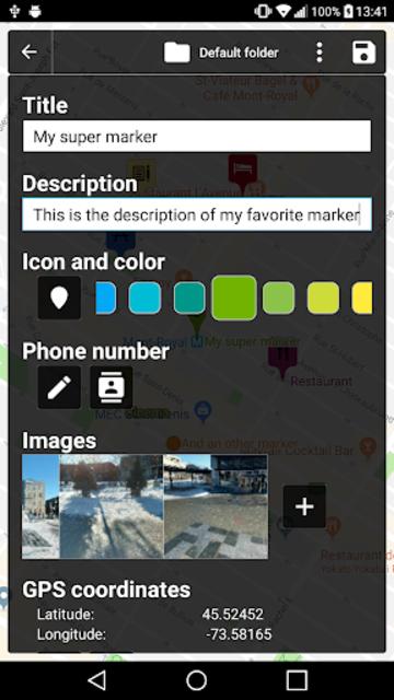 Map Marker screenshot 4