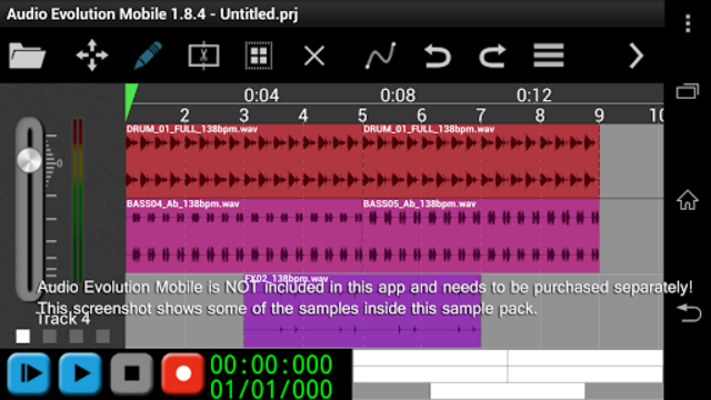 Scary Percussion for AEMobile screenshot 1