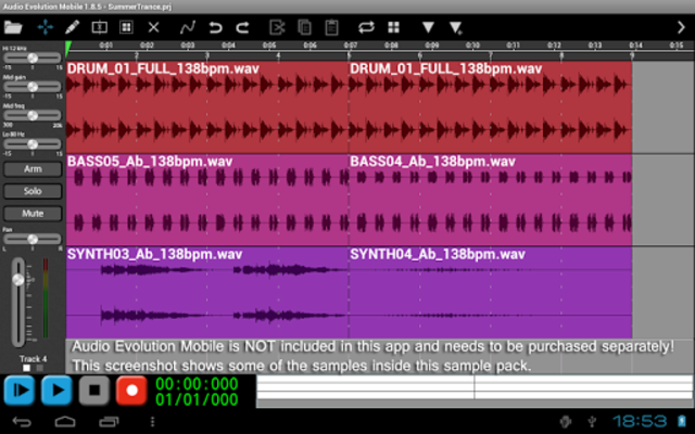 Scary Percussion for AEMobile screenshot 2