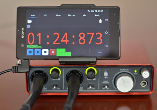 USB Audio Recorder PRO screenshot 1
