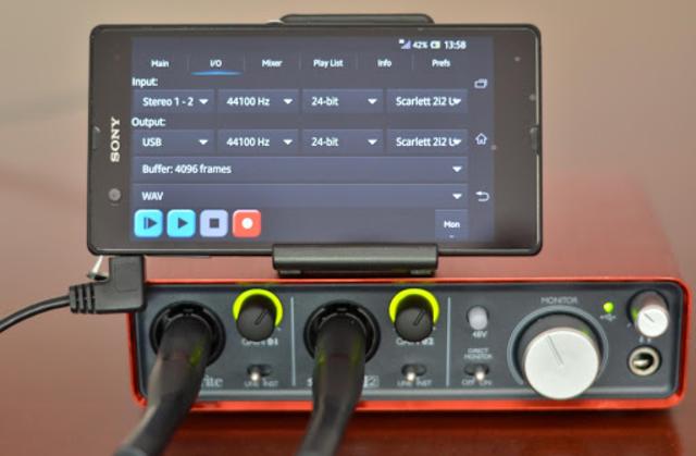 USB Audio Recorder PRO screenshot 3