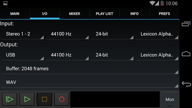 USB Audio Recorder PRO screenshot 4