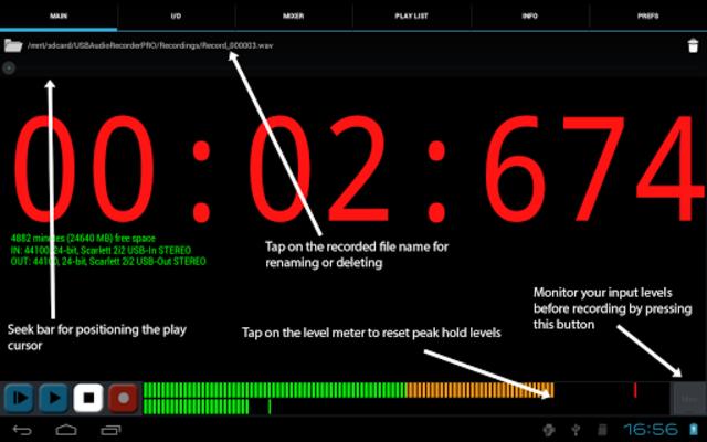 USB Audio Recorder PRO screenshot 8