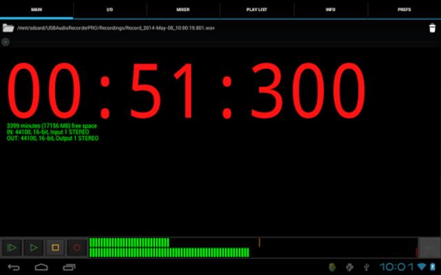 USB Audio Recorder PRO screenshot 9