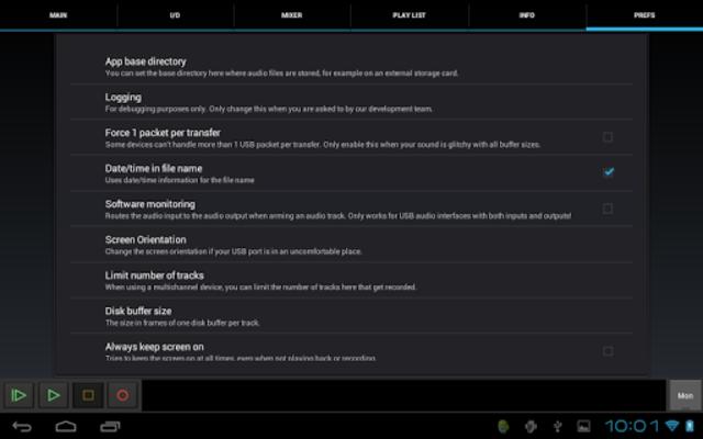 USB Audio Recorder PRO screenshot 12