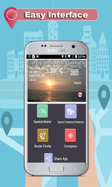 GPS Route Finder - Speed Live Camera Detector screenshot 4
