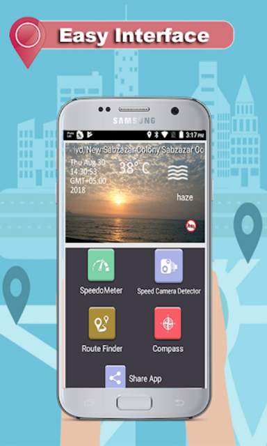 GPS Route Finder - Speed Live Camera Detector screenshot 16