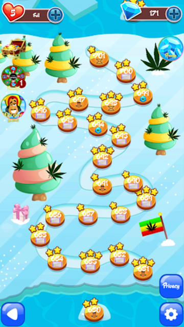 Crush Weed Match 3 Candy Jewel - cool puzzle games screenshot 19