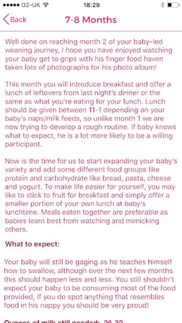 Baby-Led Weaning Recipes screenshot 11