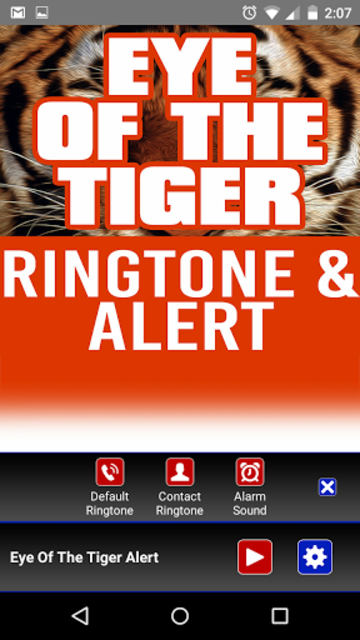 Eye of the Tiger Ringtone screenshot 2