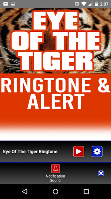 Eye of the Tiger Ringtone screenshot 3