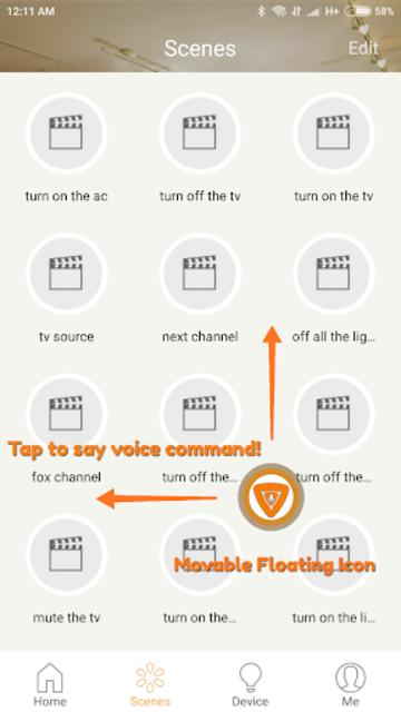 Broadlink IHC Voice Plugin screenshot 5