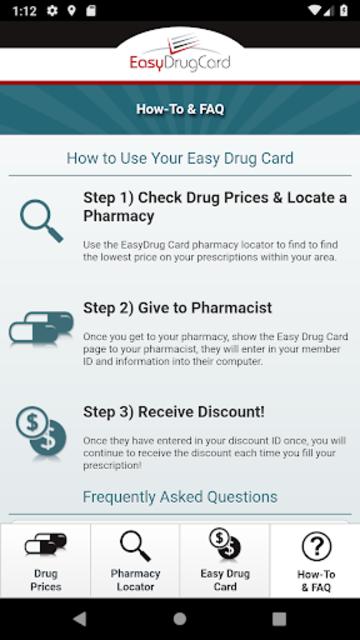 Easy Drug Card screenshot 3