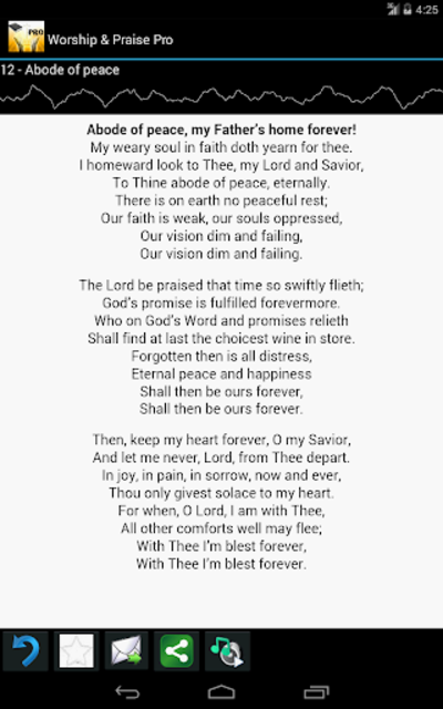 Worship and Praise Lyrics Pro screenshot 4