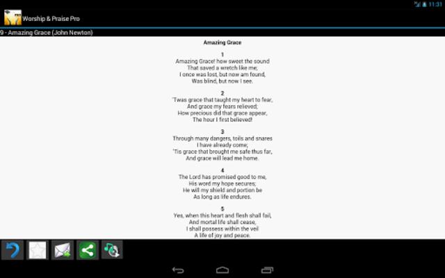 Worship and Praise Lyrics Pro screenshot 5
