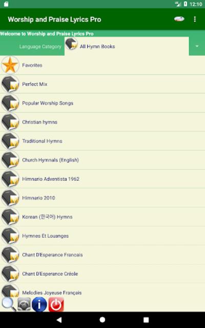 Worship and Praise Lyrics Pro screenshot 1