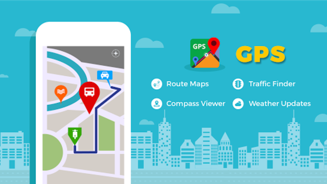 GPS, Maps, Navigate, Traffic & Area Calculating screenshot 1