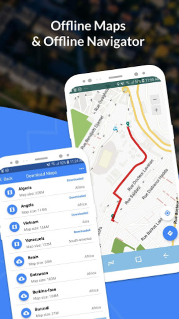GPS, Maps, Navigate, Traffic & Area Calculating screenshot 3
