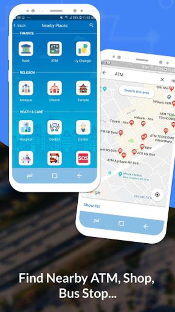 GPS, Maps, Navigate, Traffic & Area Calculating screenshot 4