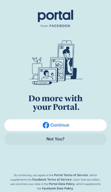 Portal from Facebook screenshot 1