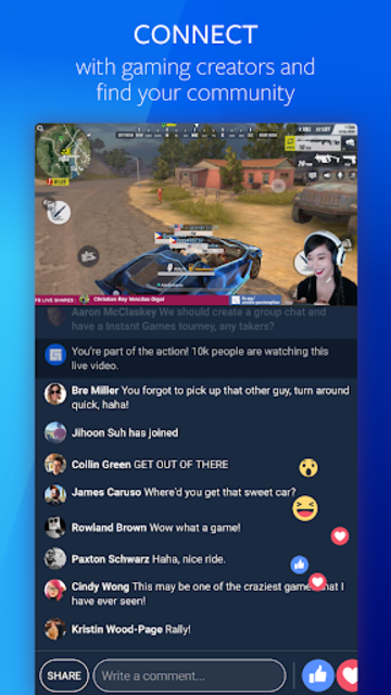 fb.gg: Watch, Share, Chat, and Play Games screenshot 2