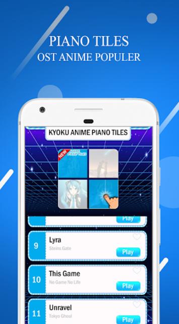 Kyoku OST ANIME PIANO TILES 2019 screenshot 1