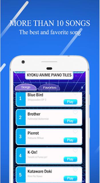 Kyoku OST ANIME PIANO TILES 2019 screenshot 3