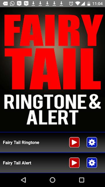 Fairy Tail Ringtone and Alert screenshot 2
