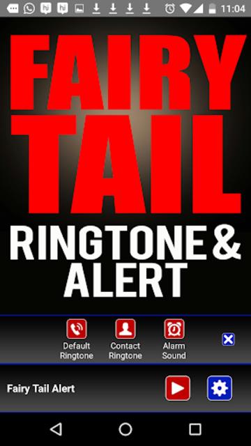 Fairy Tail Ringtone and Alert screenshot 3