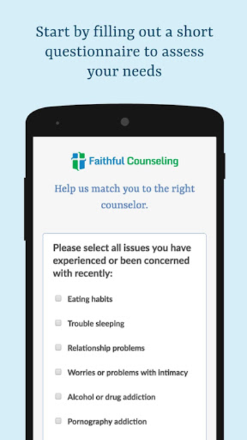 Faithful Counseling - Christian Based Therapy screenshot 3