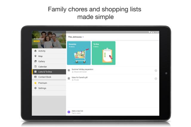FamilyWall for Sprint screenshot 8