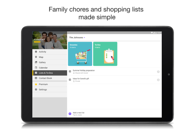 FamilyWall for Sprint screenshot 11