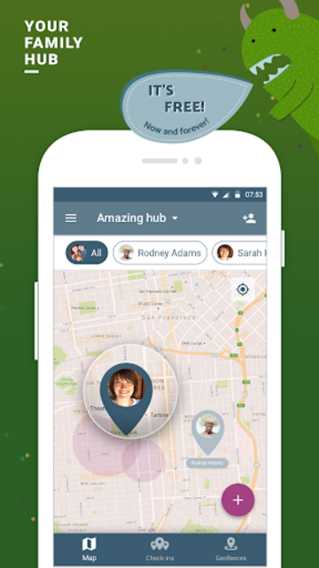 Family location tracker and friends finder screenshot 1