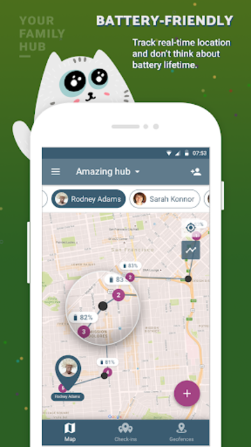 Family location tracker and friends finder screenshot 2