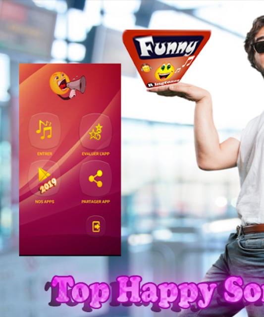 Super Funny Ringtones 2019 🔔 screenshot 3