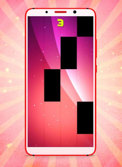 Callaíta Bad Bunny Fancy Piano Tiles screenshot 2