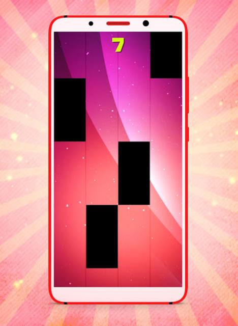 Callaíta Bad Bunny Fancy Piano Tiles screenshot 3