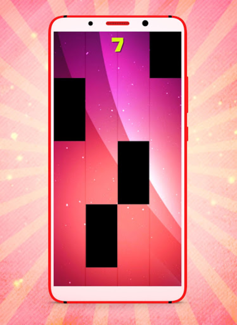 Nicki Minaj MEGATRON Fancy Piano Tiles screenshot 3