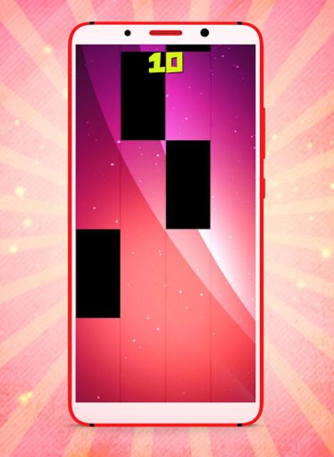 Nicki Minaj MEGATRON Fancy Piano Tiles screenshot 4