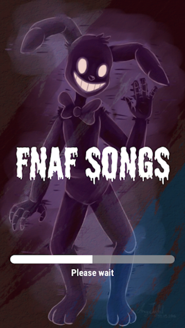 Lyrics FNAF 1 2 3 4 5 6 Songs Free screenshot 1