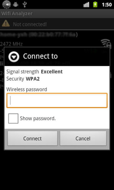 Wifi Connecter Library screenshot 2