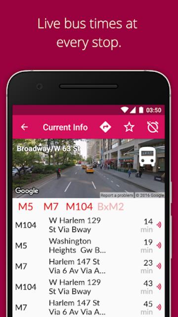 NYC Bus Checker screenshot 2