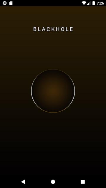 BlackHole screenshot 1