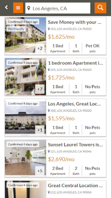 Featured Rentals: Apartments & Homes screenshot 2