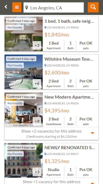 Featured Rentals: Apartments & Homes screenshot 3