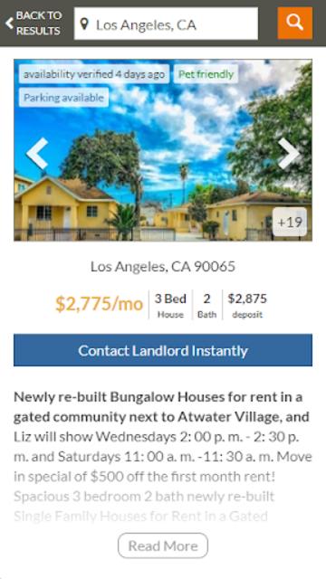 Featured Rentals: Apartments & Homes screenshot 4