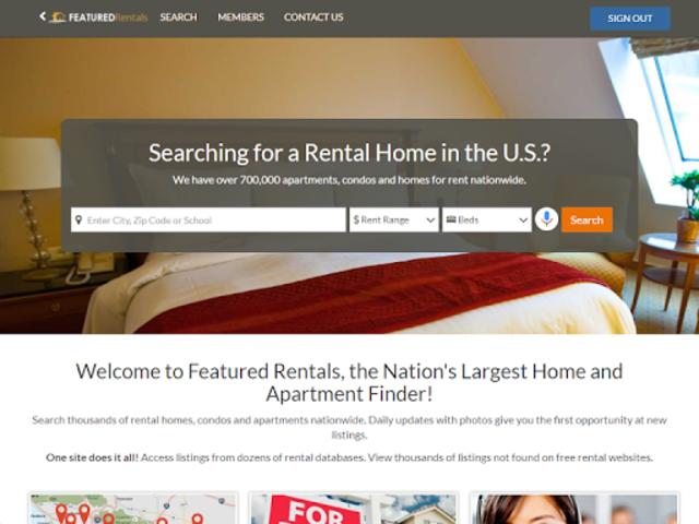 Featured Rentals: Apartments & Homes screenshot 7