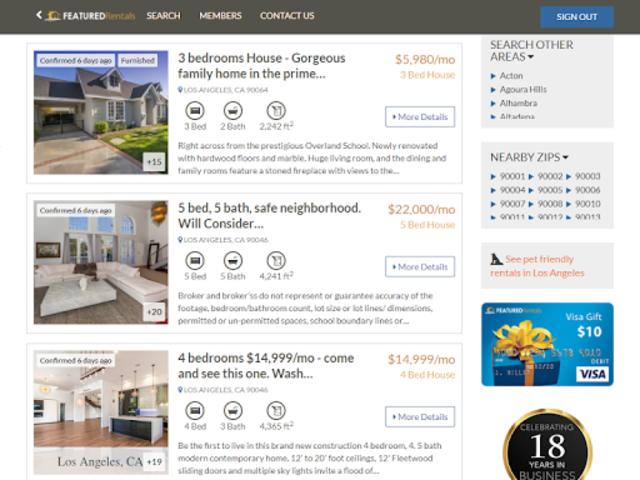 Featured Rentals: Apartments & Homes screenshot 8