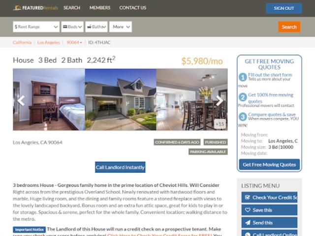 Featured Rentals: Apartments & Homes screenshot 10
