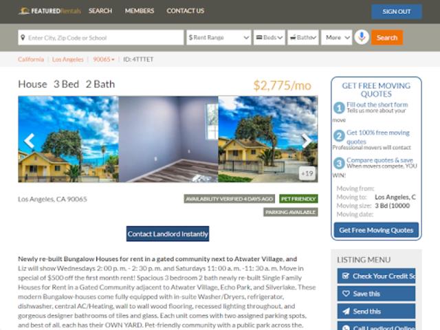 Featured Rentals: Apartments & Homes screenshot 11